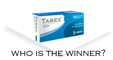 Tabex is the smoking cessation aid today