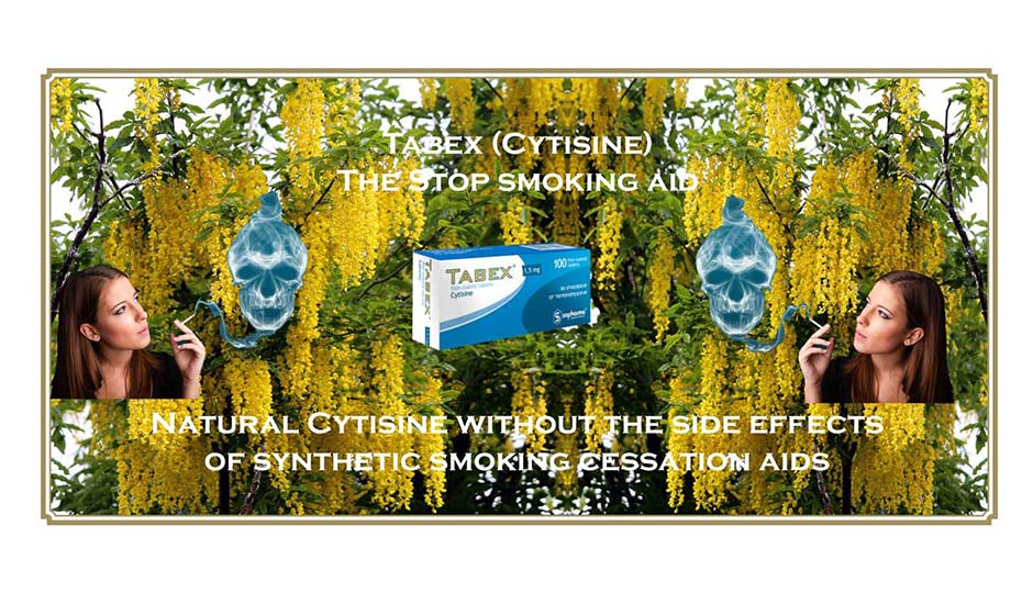 Cytisine natural to stop smoking